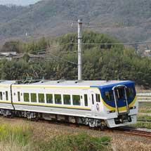 JR四国8000系台鉄ラッピング車が出場
