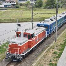 東武鬼怒川線でSL「大樹」用車両の試運転