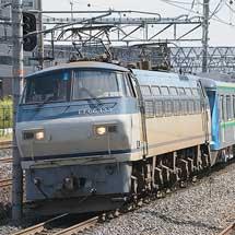 東京メトロ16000系第35編成が甲種輸送される