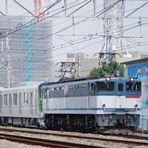 東京メトロ13000系第9編成が甲種輸送される