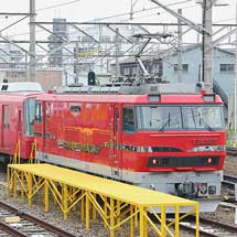 名鉄5700系5601編成が東名古屋港へ