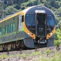 JR四国8600系E1編成が伯備線で試運転