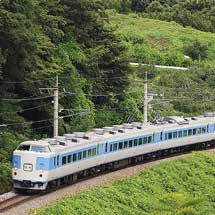 189系M50編成が篠ノ井線を走行