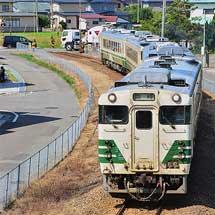 秋田港発着の臨時列車運転