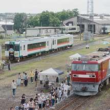 小牛田駅構内で『えきフェスMISATO2017』開催
