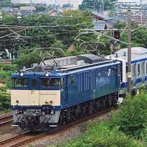 E531系K426編成が配給輸送される