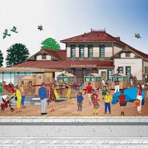 しなの鉄道旧軽井沢駅舎が駅として復活へ