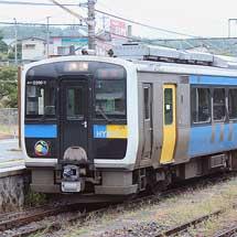 キハE200形の3連が定期列車に