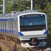 東北本線でE531系の試運転が続く