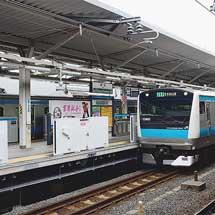 京浜東北線浦和駅でホームドア設置