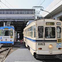 熊本市電で運転体験会を開催