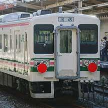 107系2両が長野へ配給輸送される