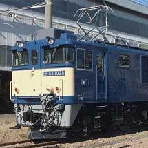 JR貨物 EF64 1028号機が国鉄色に