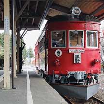 旧名鉄谷汲駅で『赤い電車まつり2017』開催