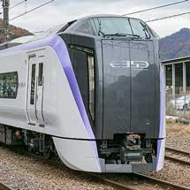 """""""スーパーあずさ"""",3月17日から全列車E353系で運転"""
