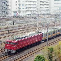 E231系3000番台4両が配給輸送される
