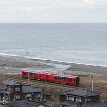 「えちごトキめきリゾート雪月花」が特別運行で泊へ