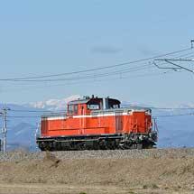 DD51 842が両毛線でハンドル訓練を実施