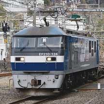 伊豆箱根鉄道5000系の甲種輸送をEF210-124がけん引