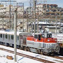 東急6020系第2編成が甲種輸送される