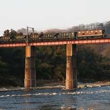 秩父鉄道デキ201が貨物列車をけん引