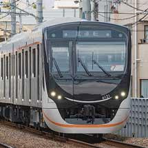 東急6020系が試運転を実施
