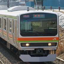 E231系3000番台が営業運転を開始