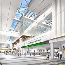 JR東日本, 2月17日から川崎駅北口通路および北改札などの供用開始