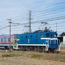 東武70000系第9編成が甲種輸送される