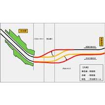 東京メトロ銀座線,5月3日〜5日に渋谷駅付近で線路切替工事を実施