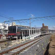 名鉄瀬戸線,喜多山駅付近の上り線が3月10日から仮線に