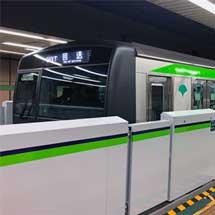 都営新宿線,本八幡駅からホームドアの設置を順次開始