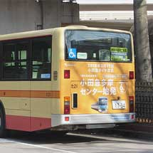 神奈中バスに小田急ダイヤ改正PRラッピング