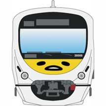 西武×サンリオ,「スマイルトレイン10th×ぐでたま5th記念キャンペーン」実施