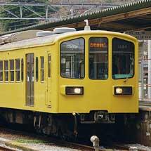 「近江の地酒電車」 が代走車両で運転される