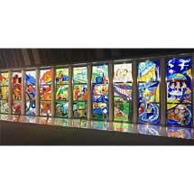 鉄道博物館でステンドグラス解説イベント「過ぎゆくもの〜光り輝く10枚の鉄道物語〜」開催