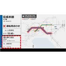 京成・新京成・北総,3月15日から全駅の運行ディスプレイを多言語化