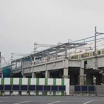 山陰本線 京都—丹波口間で新駅の建設すすむ