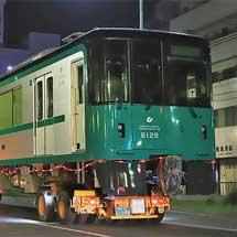 神戸市交通局6000形が陸送される