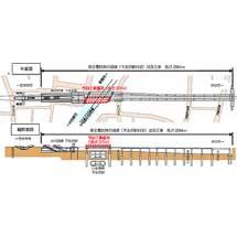 京王,5月に井の頭線下北沢駅付近下り線橋りょうの架替え工事を実施