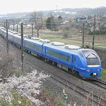 "臨時快速""高田お花見号"",E653系U106編成で運転"