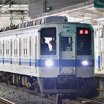 東武8000系8160編成+800系802編成が渡瀬へ
