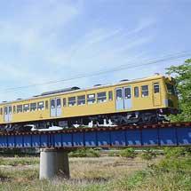三岐鉄道801系西武復刻塗色編成が営業運転を開始