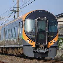 JR四国の各線の特急列車で増結運転が行なわれる