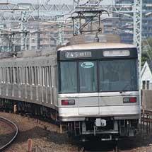 東京メトロ03系第11編成が回送される