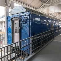 京都鉄道博物館でオロネ24 4の車内公開