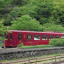 観光列車「ながら/川風号」が定期列車に使用される