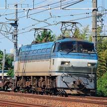 西濃運輸一部貸切貨物列車をEF66が代走けん引