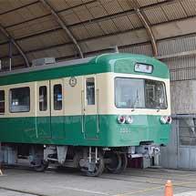 『駿豆線開業120周年記念イベント』で旧軌道線カラーの3000系公開