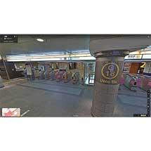 東京メトロ駅構内のGoogleストリートビューが公開される